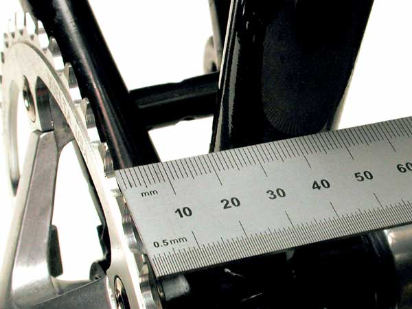 measuring chainline angle photo