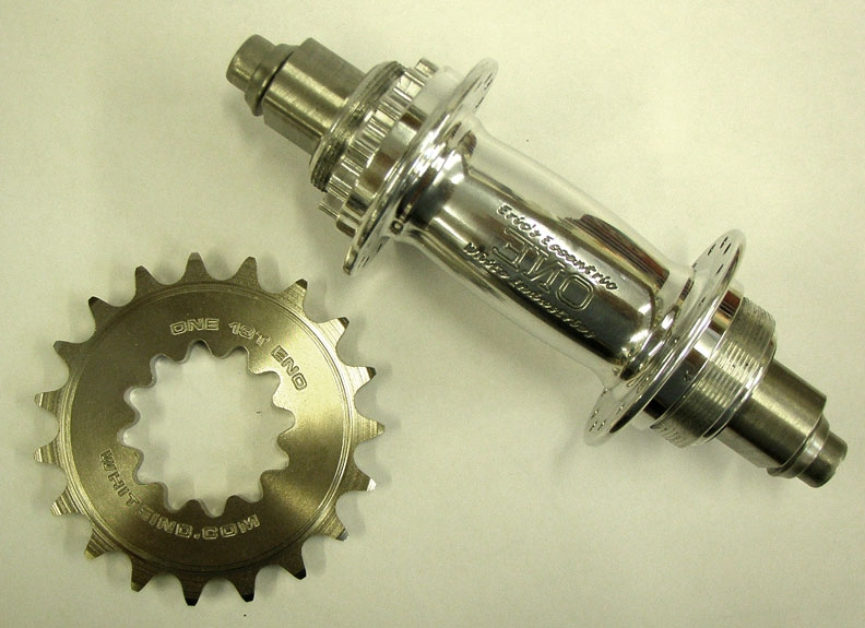 New White Industries ENO Single Speed Hub