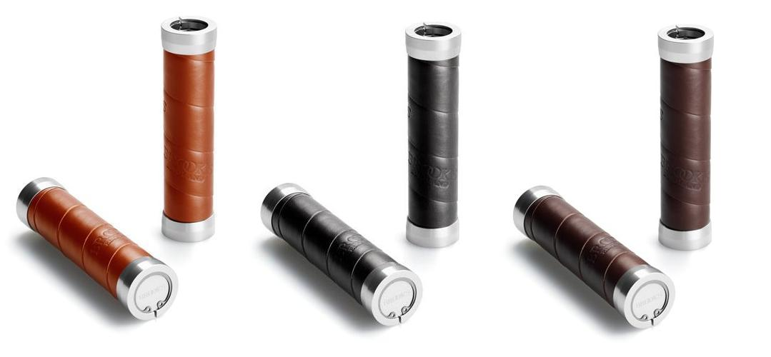 Brooks Leather Handlebar Grips