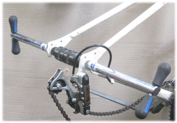 Adjusting bicycle forkends to be parallel