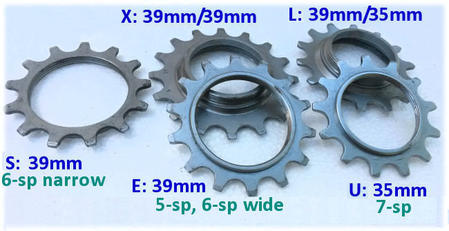 Special new Winner sprockets