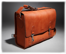 leather kit bag