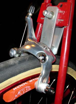 Raleigh Twenty Rear Brake