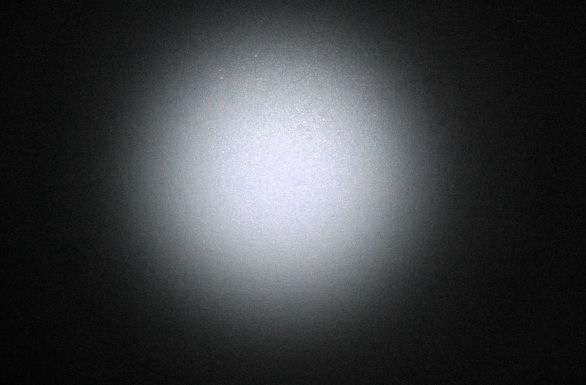 flashlight beam pattern