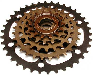 A SunTour Perfect freewheel