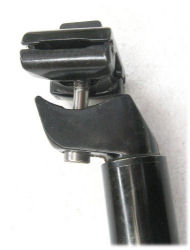 Single-bolt seatpost