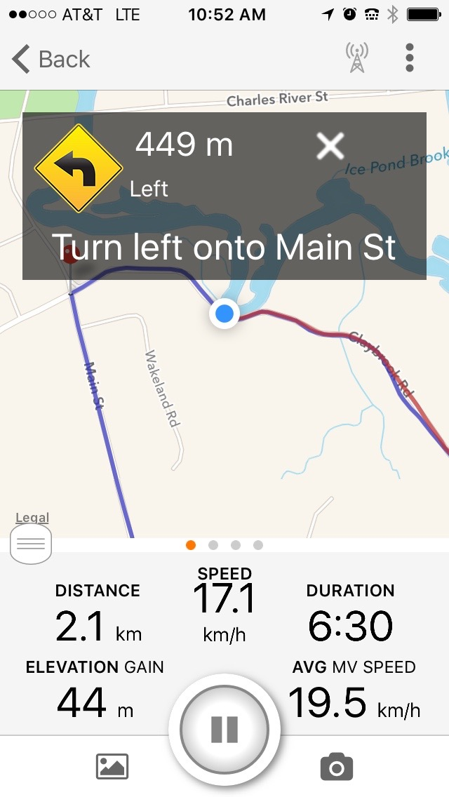 turn left screenshot