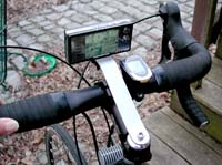 Bicycle Handlebar Mount for Kodak V570 Camera