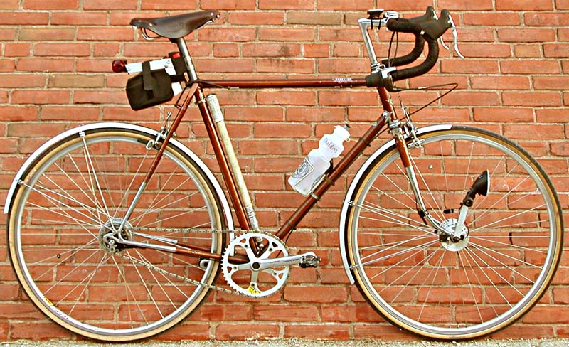Sheldon Brown's Nexus Raleigh International
