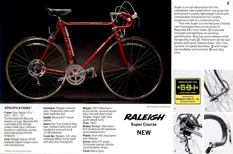 Retro Raleighs The Super Course